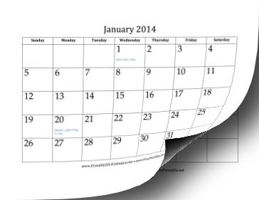 2014 Calendar (12 pages) Calendar